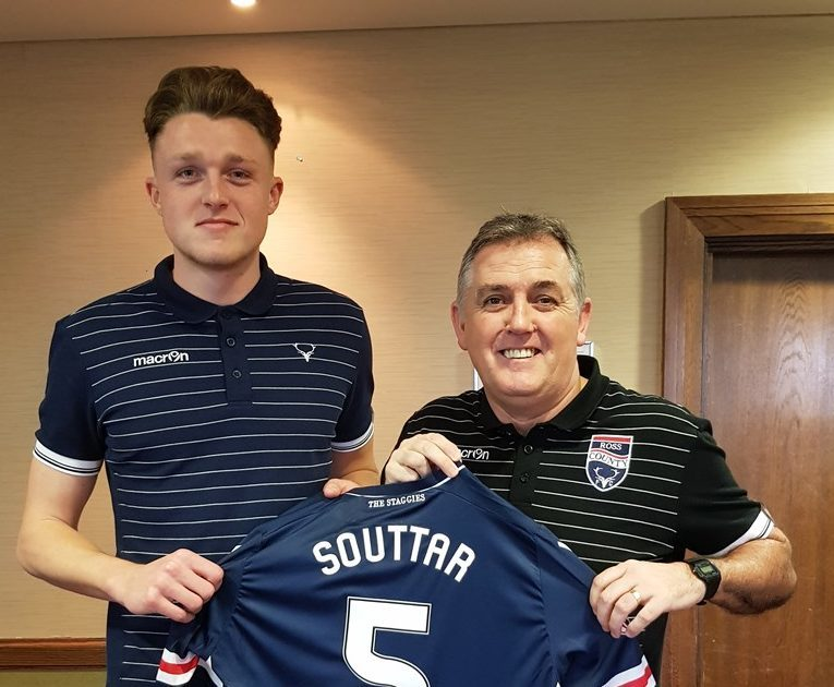 Harry Souttar was signed for Ross County by the now-departed Owen Coyle.