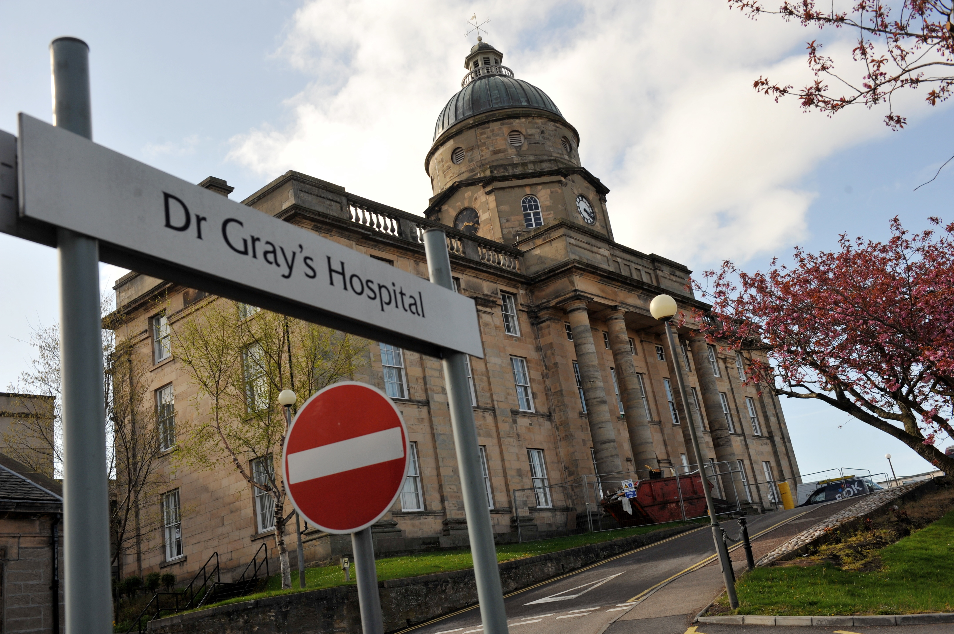 Dr Gray's Hospital in Elgin.