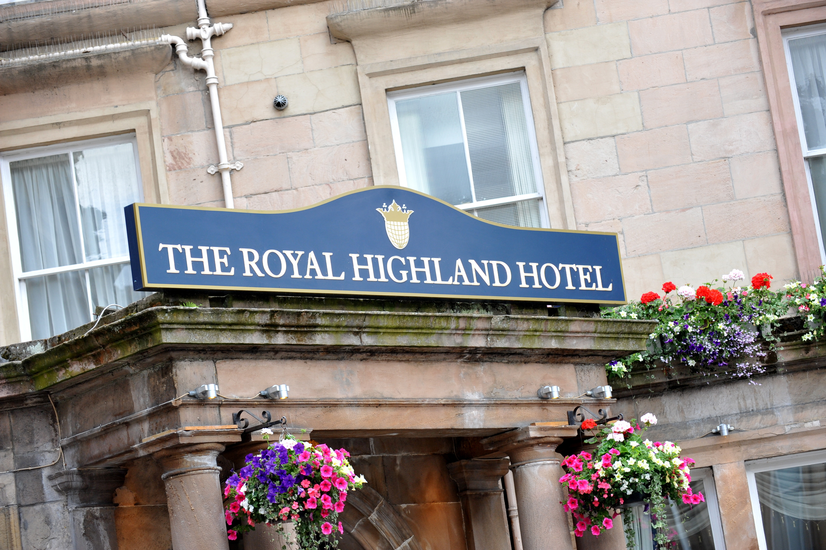 Inverness Railway Station facelift is being held back by a city hotel, it has been claimed.