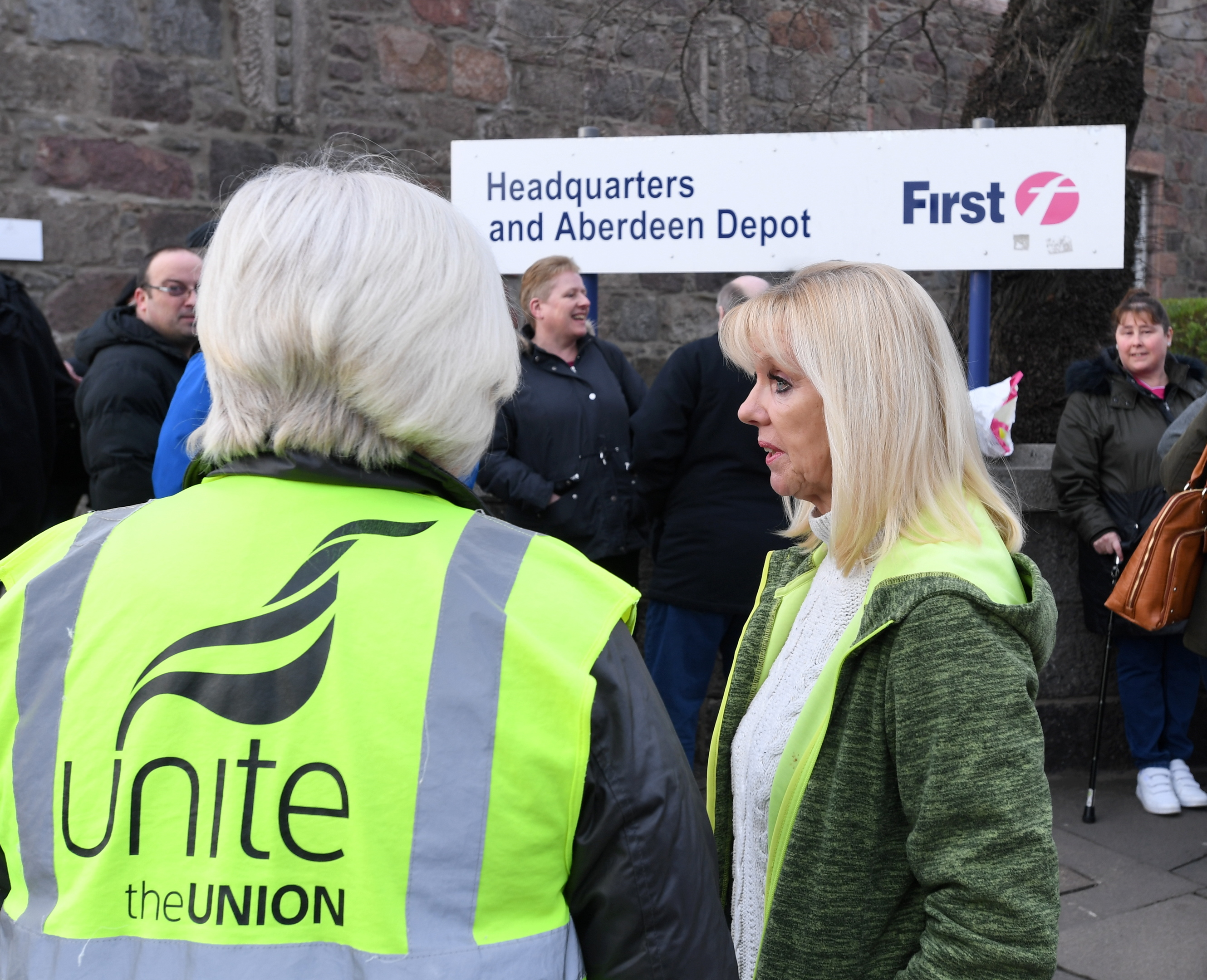 A proposed strike has been suspended ahead of today's vote.