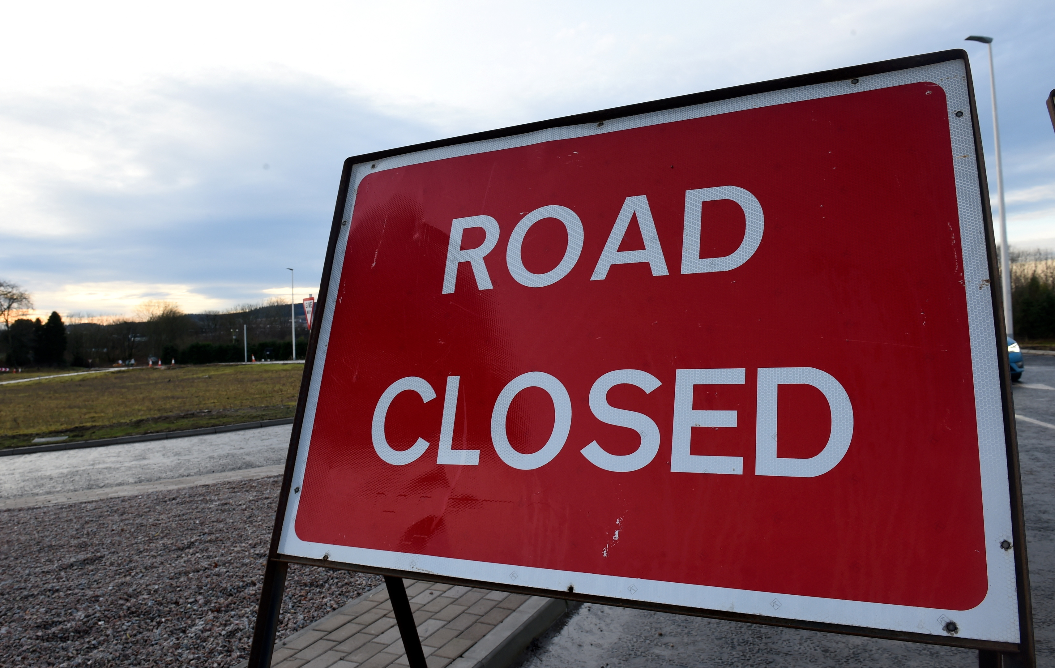 A82 closed due to accident