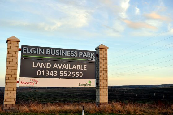 Elgin Business Park is on the eastern outskirts of the town.