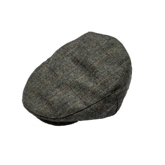 Men's Tweed Flat Cap - Grey £5.99