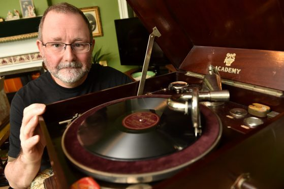 Collector William Rimmer. Picture by Kenny Elrick.