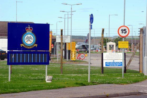 RAF Lossiemouth.