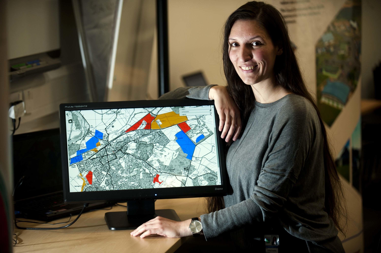 Hilda Puskas, environmental services development planner.