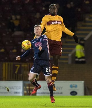 Billy Mckay was on target for the Staggies.