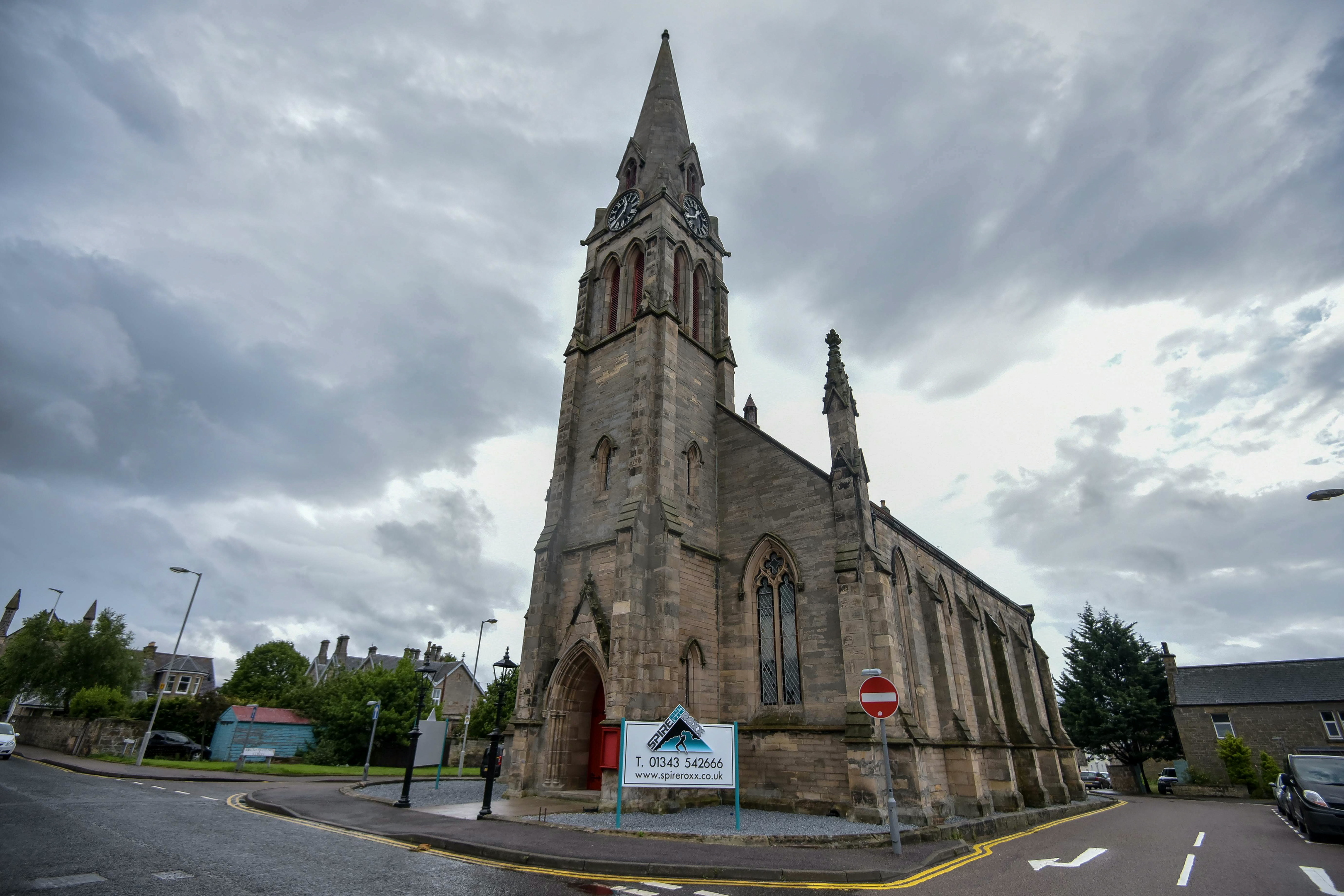 The former church has been home to Spireroxx for nearly three years.