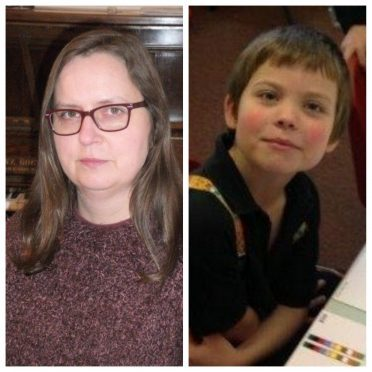 Fiona Matthews, (left) and her son Martin (right), has urged all parents of children with additional needs to be aware of their legal rights regarding education provision.