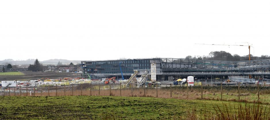 The new Aberdeen Exhibition and Conference Centre is taking shape. Pics by Colin Rennie & video by Kami Thomson