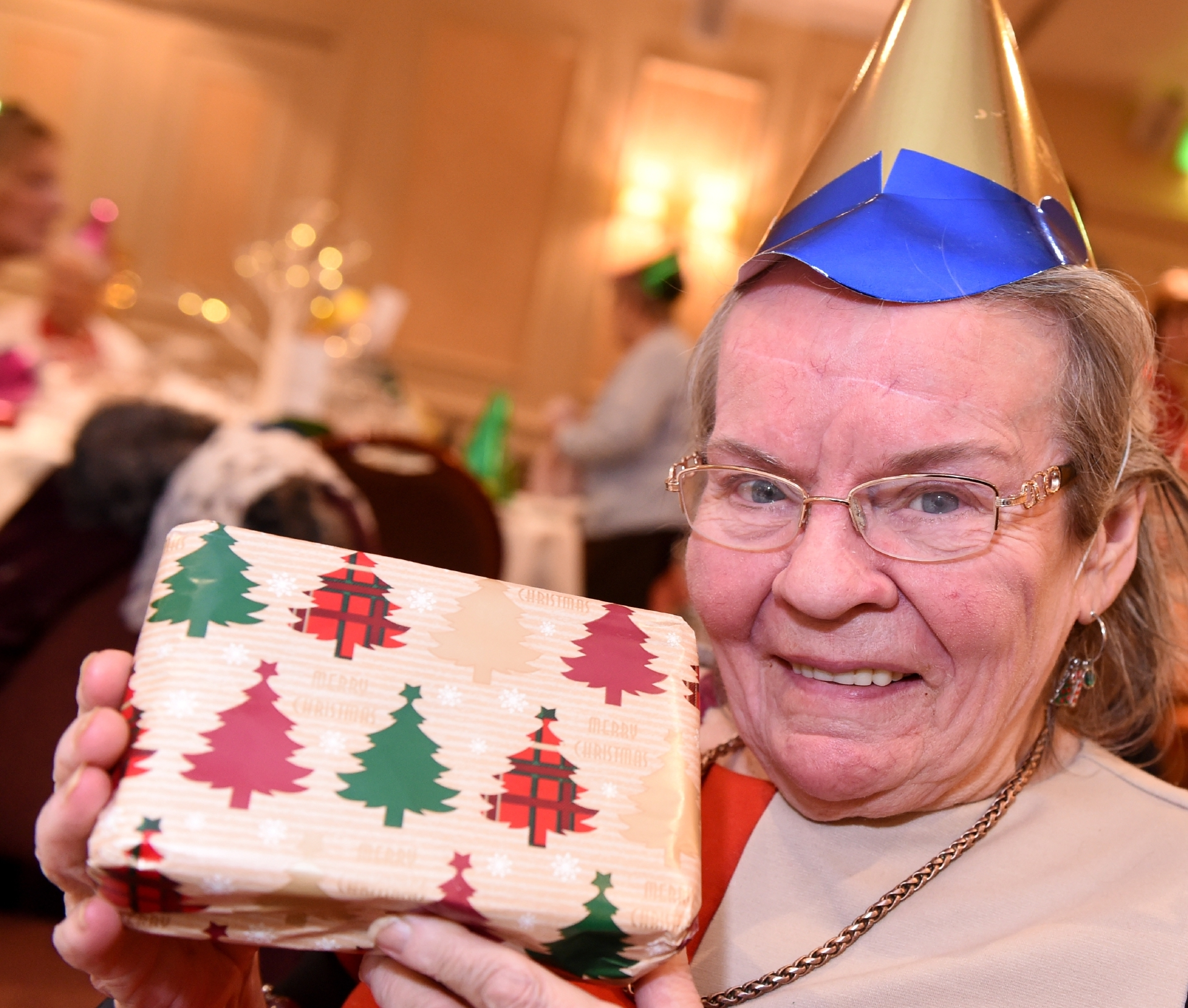 """Maureen, who organisers knowingly describe as """"a character"""", now surrounds herself with freshly-made friends and lots of laughter on a regular basis."""