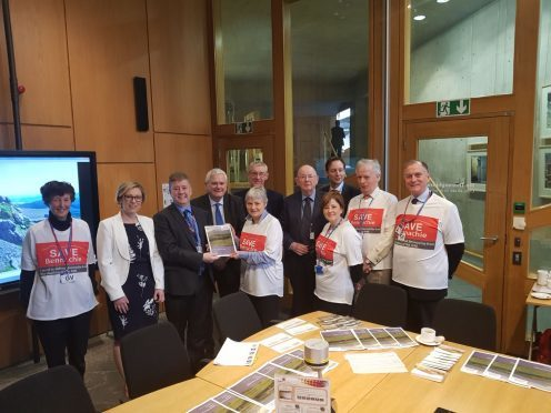 Save Bennachie campaigners take battle to Holyrood