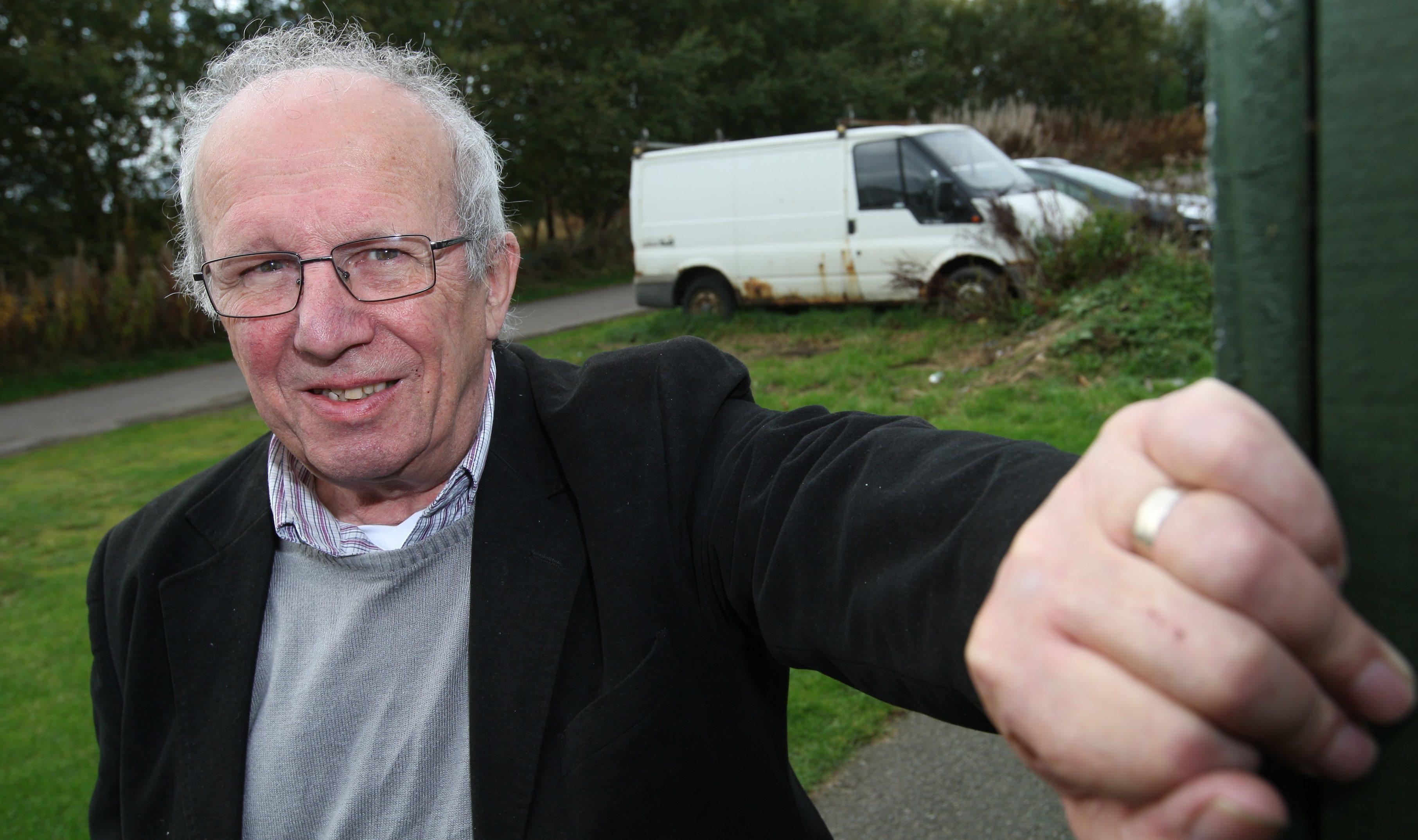 David McGrath, chairman of Smithton and Culloden Community Counci.