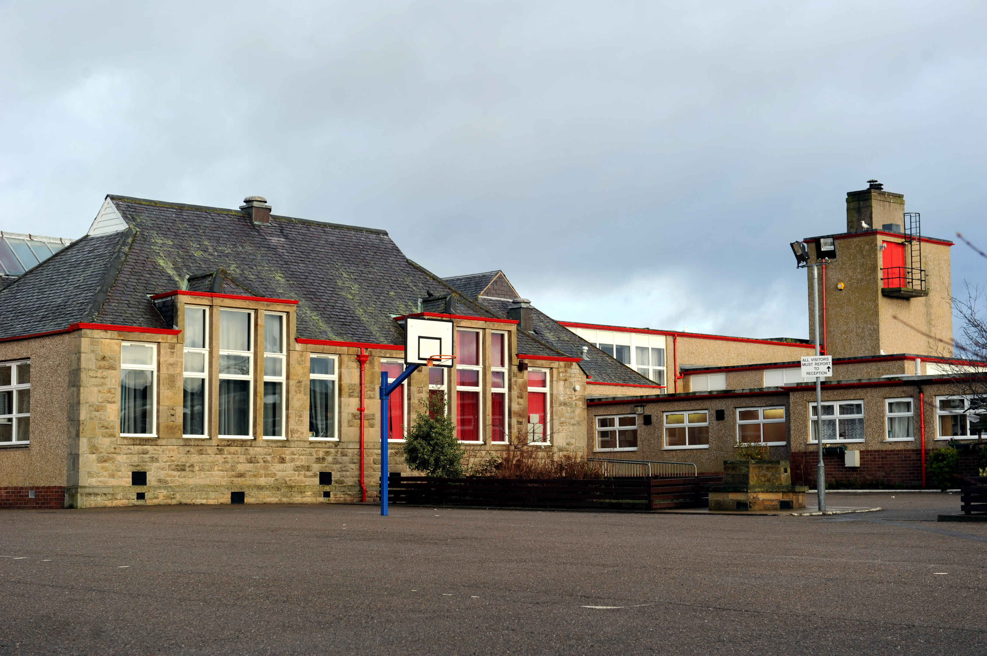 New Elgin Primary School, Elgin, where the nursery is to be extended. Picture by Gordon Lennox.