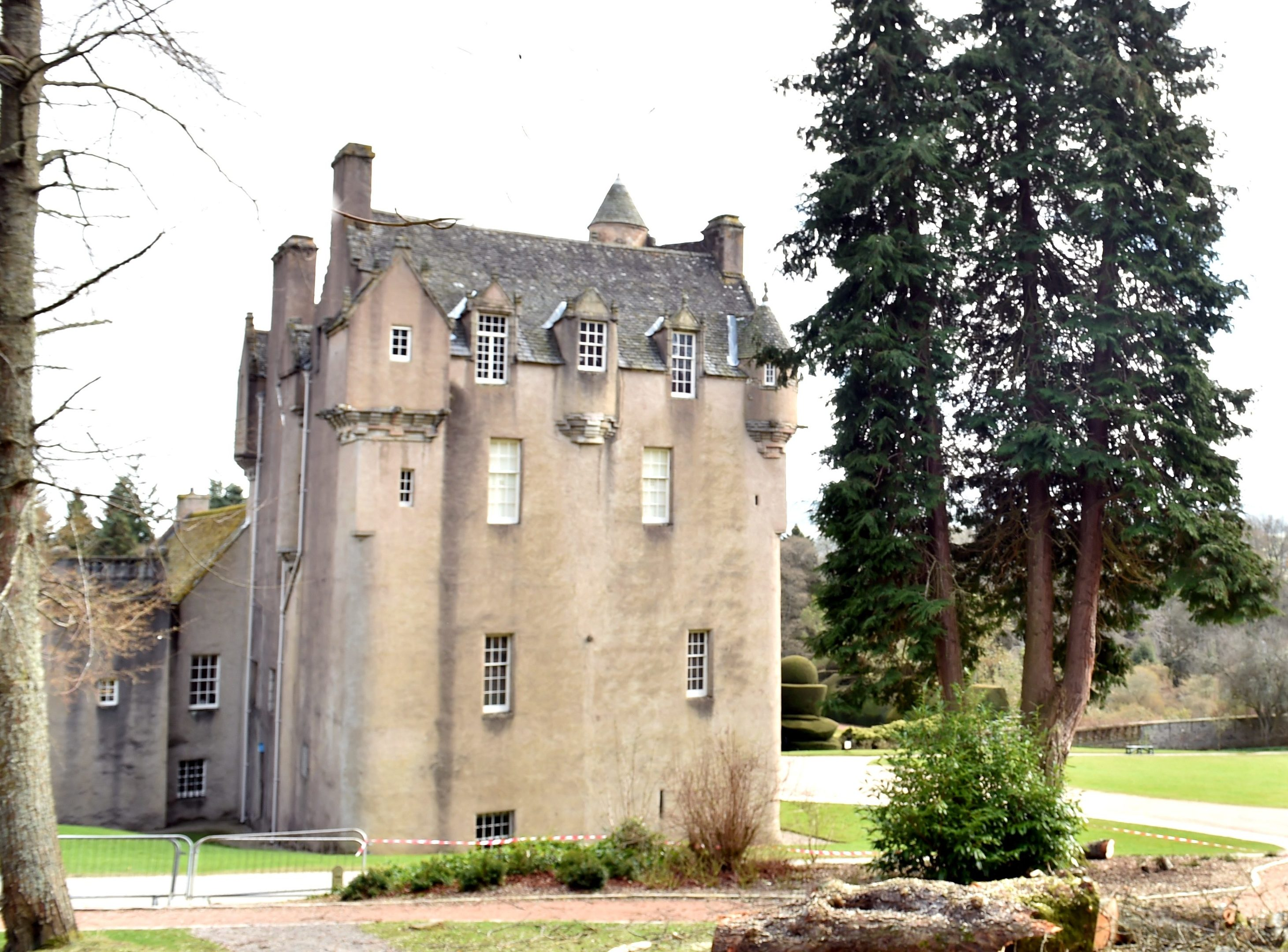 Crathes Castle by fellers from the Mar Lodge Estate.