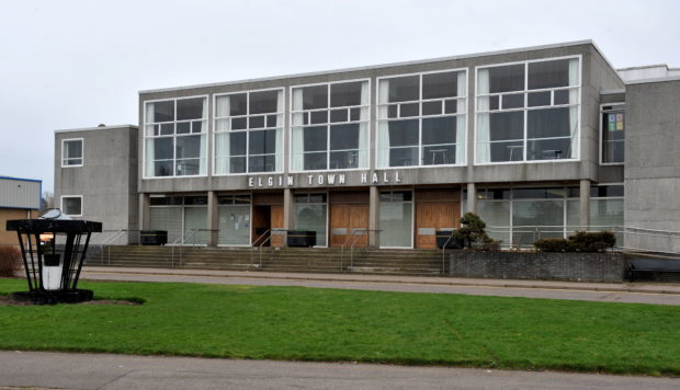 Elgin Town Hall.