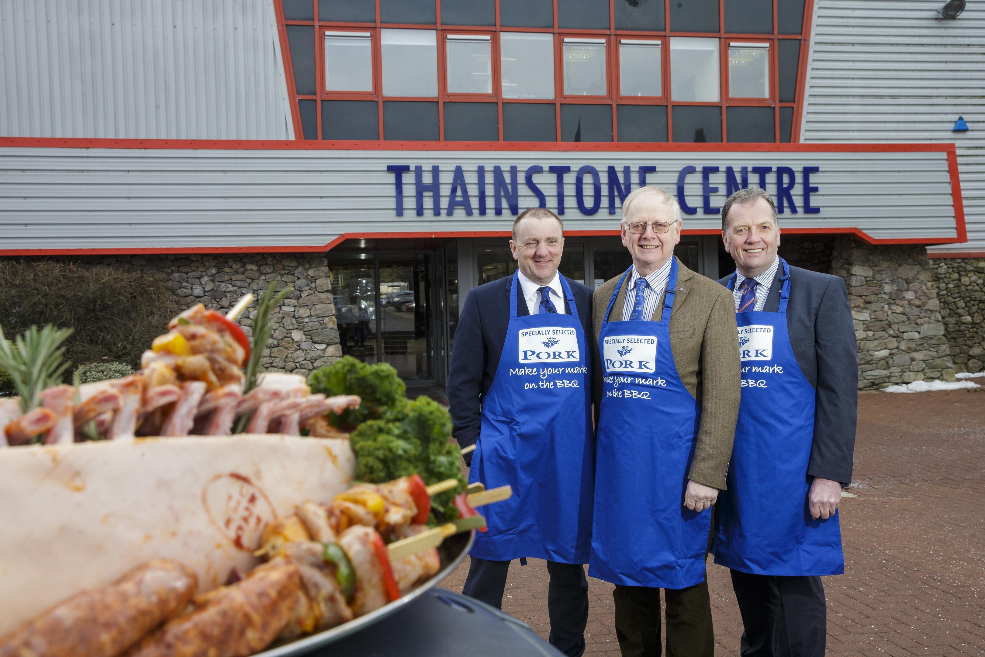 Launch of Taste of Grampian food festival.