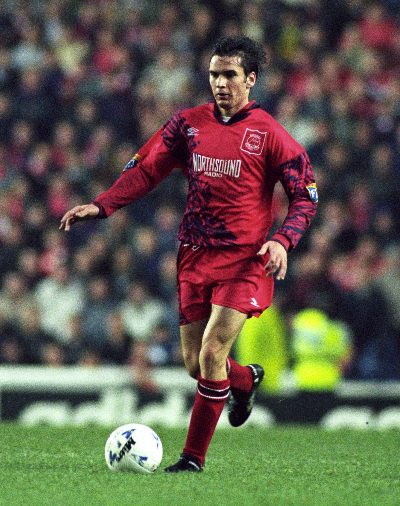 Former Aberdeen midfielder Stephen Glass