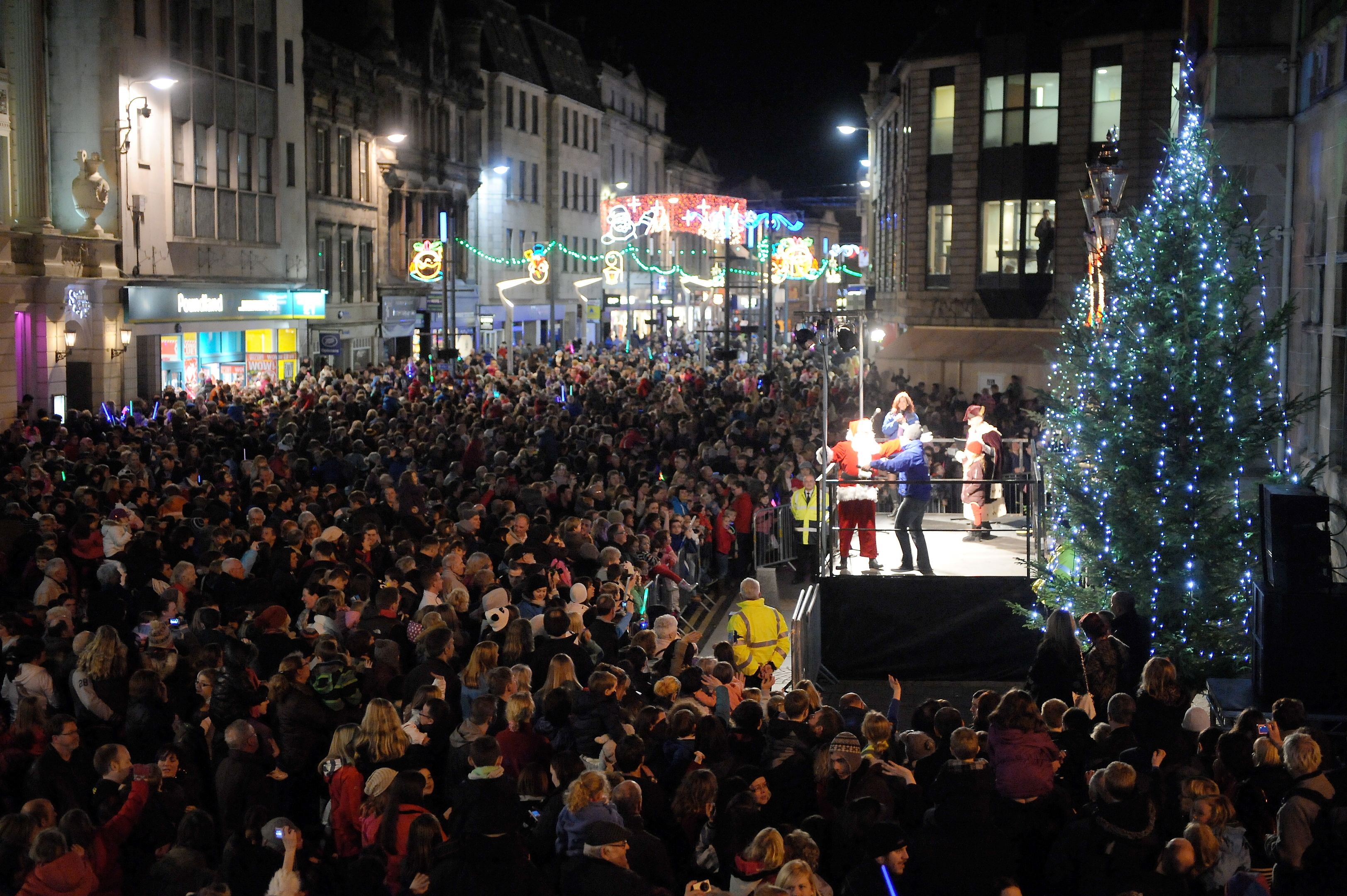 Highland Council wants to charge events such as Christmas lights switch on.