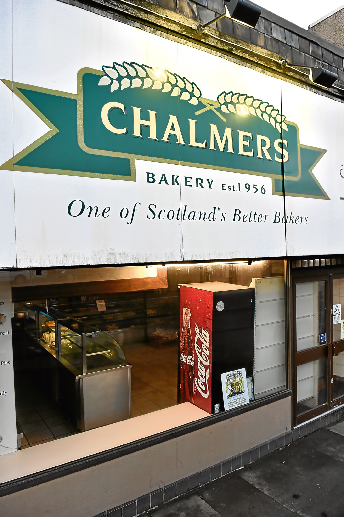 Locator of Chalmers Bakery, Auchmill Road, Bucksburn, Aberdeen.  Picture by KENNY ELRICK     02/02/2018