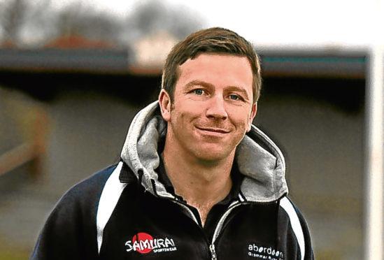Aberdeen Grammar RFC manager, Ali O'Connor