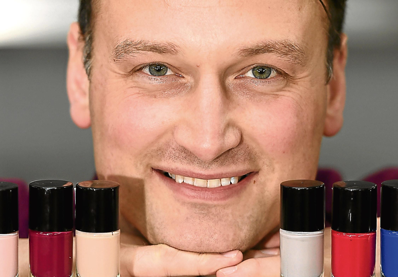 Andy Pearson of SMC Cosmetics, Inverbreakie Industrial Estate Invergordon.