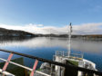 Arriving in Rothesay on the ferry having spotted porpoises on the short journey over