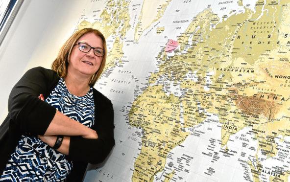 Aberdeen Airport MD Carol Benzie.