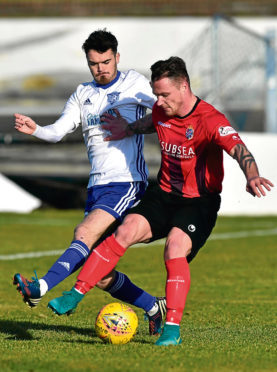 Peterhead defender McIlduff has a lik​ing for Belmokhtar striking gift