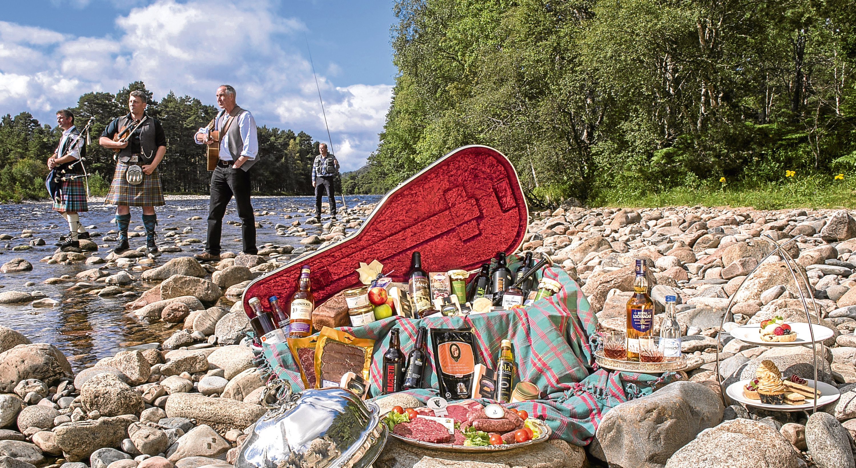 Scotland's produce, including alcohol and meat, has won much acclaim.