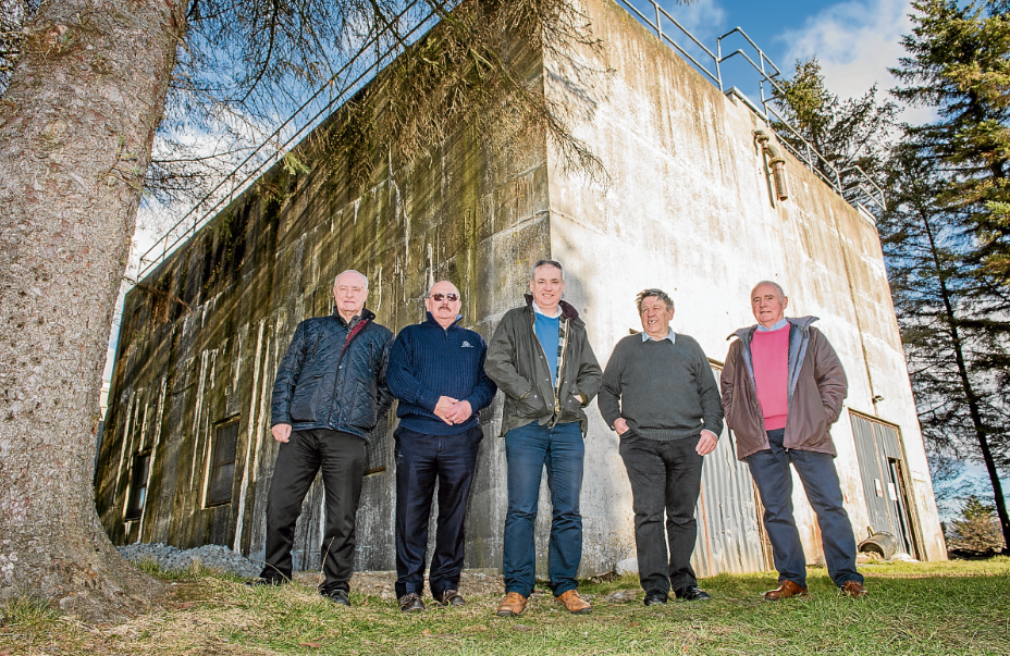 Moray golf club bids to take control of derelict water tower to improve fortunes