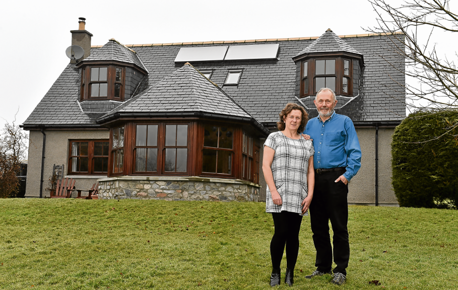Life comes full circle at Cushnie family home