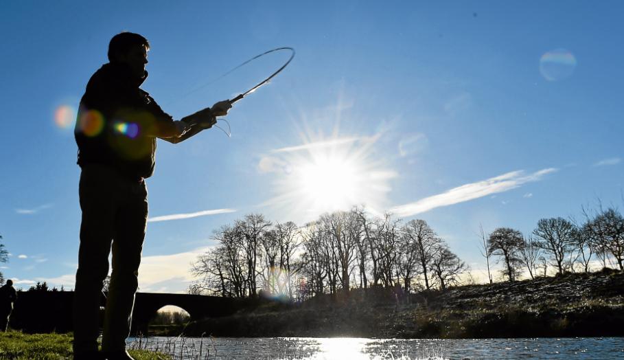 Salmon fishing season begins at the River Deveron