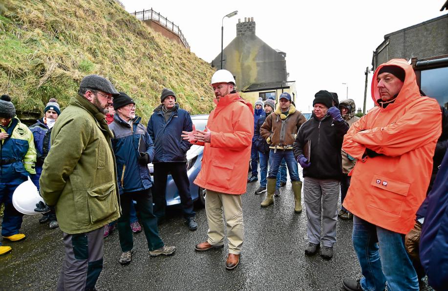 """North-east MP vows to help fix """"broken"""" village of Gardenstown"""