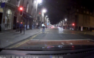 Dash cam captures Aberdeen delivery cyclist giving driver 'the finger'