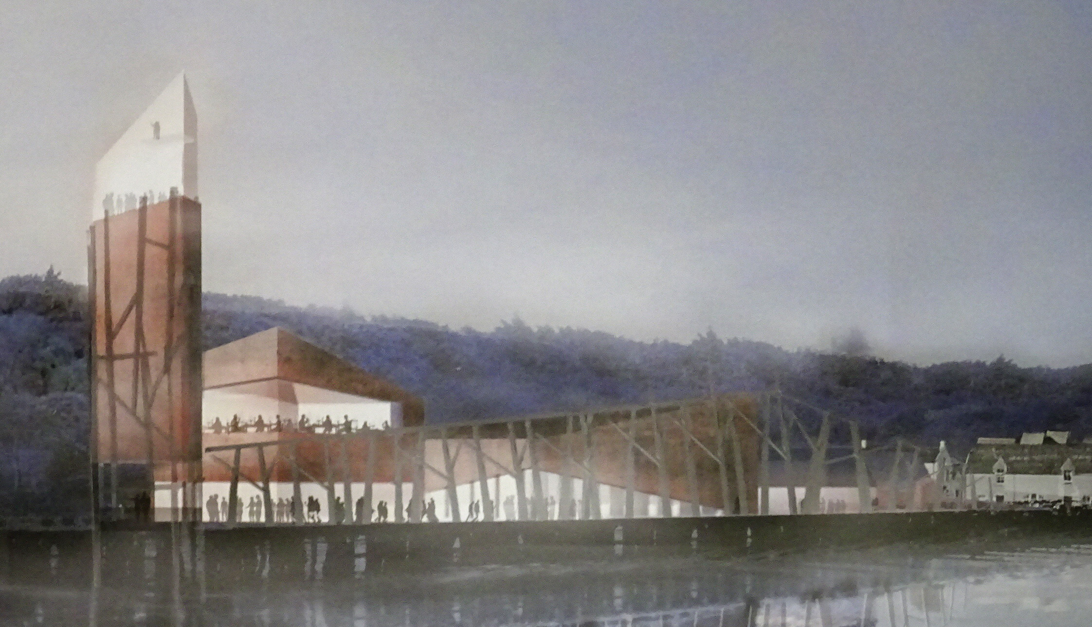 A vision to create a world class visitor centre to commemorate Britain's worst peacetime maritime disaster has been revealed.