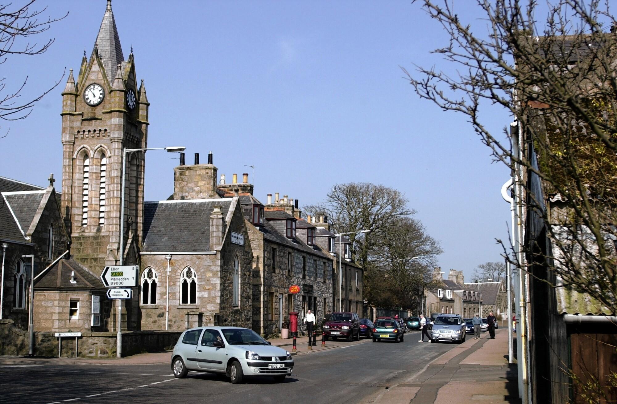 Newburgh Main Street.