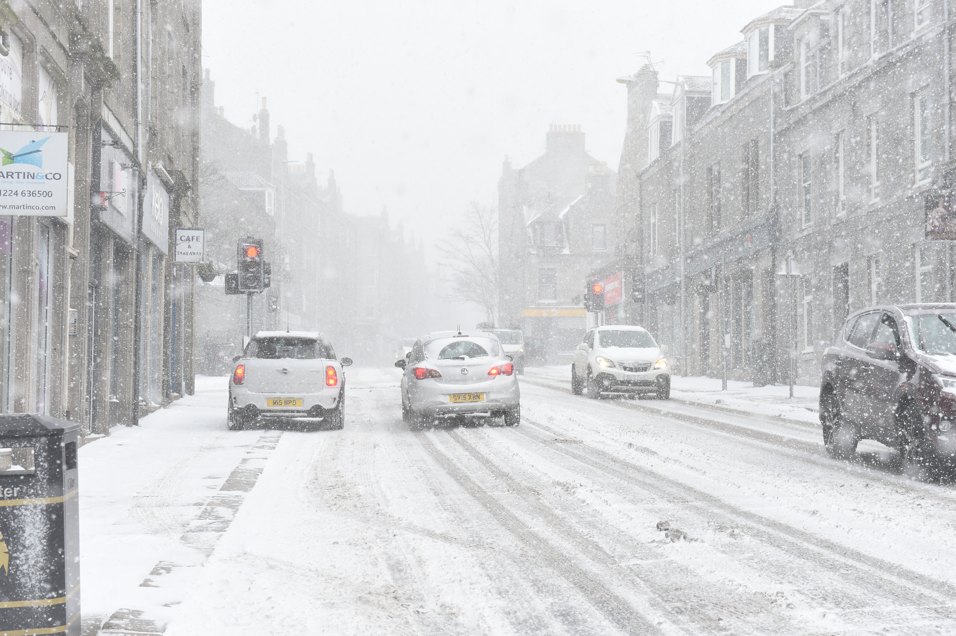 Aberdeen back on the grid after city-wide power cuts.
