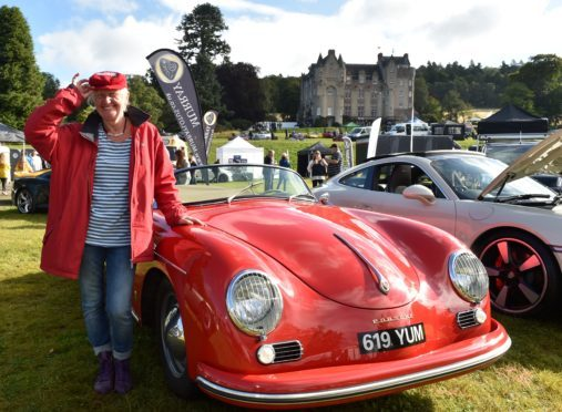 Royal Deeside Speed Festival held at Kincardine Castle.