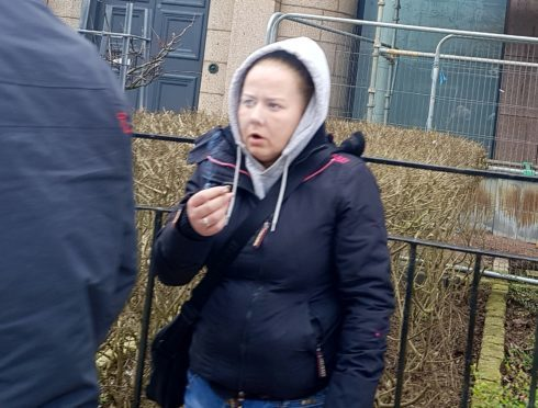 Laura Gemmell threatened a schoolgirl and her mum.