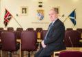 Moray Council leader George Alexander.