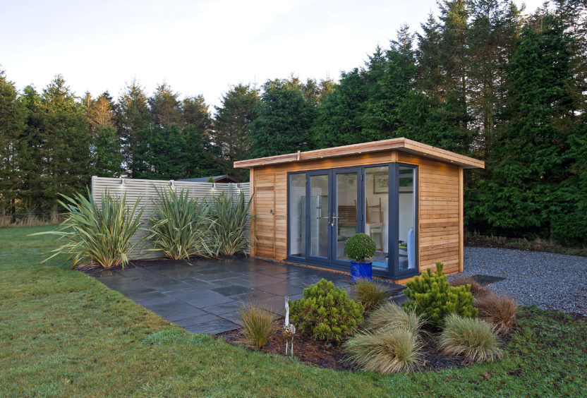 Hanmer Lodge, Clochan, Buckie, Moray. Picture by Jason Hedges