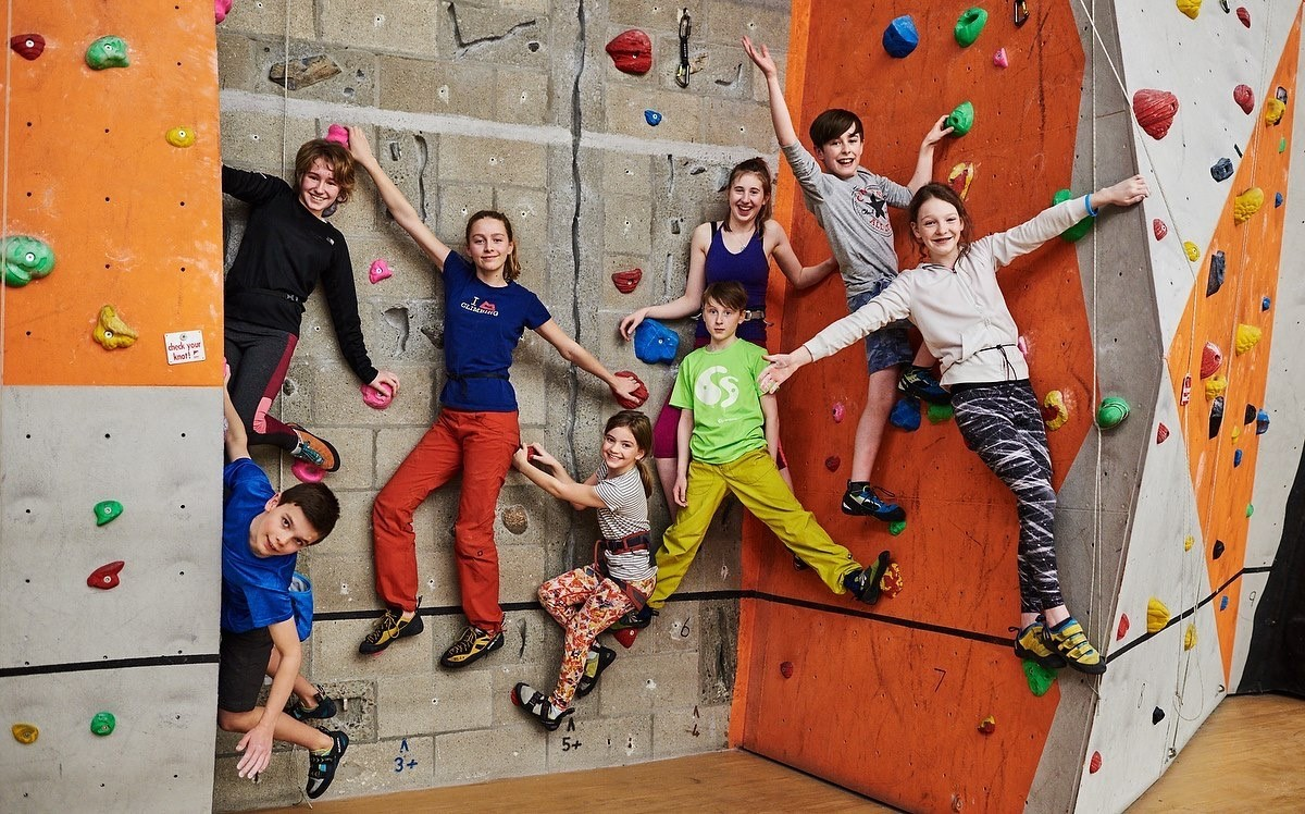 Duncan Brown, Rachel Wood, Carrie Brown, Lorna Brown, Rhys Taylor, Natalie Taylor, Will Bain and Emma Phillip all compete in competitive climbing in Moray.