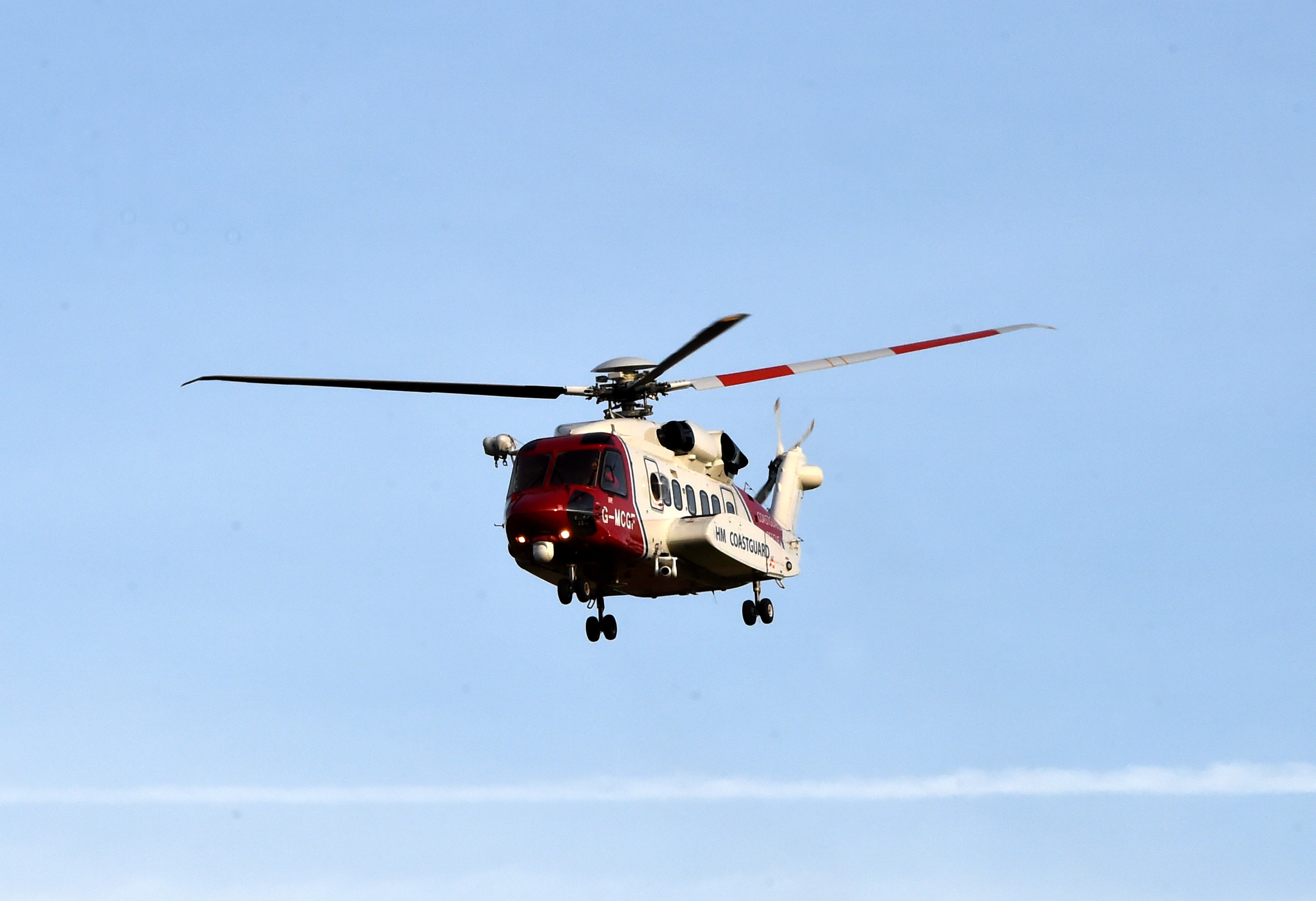 RAF Mountain Rescue Team helicopter
