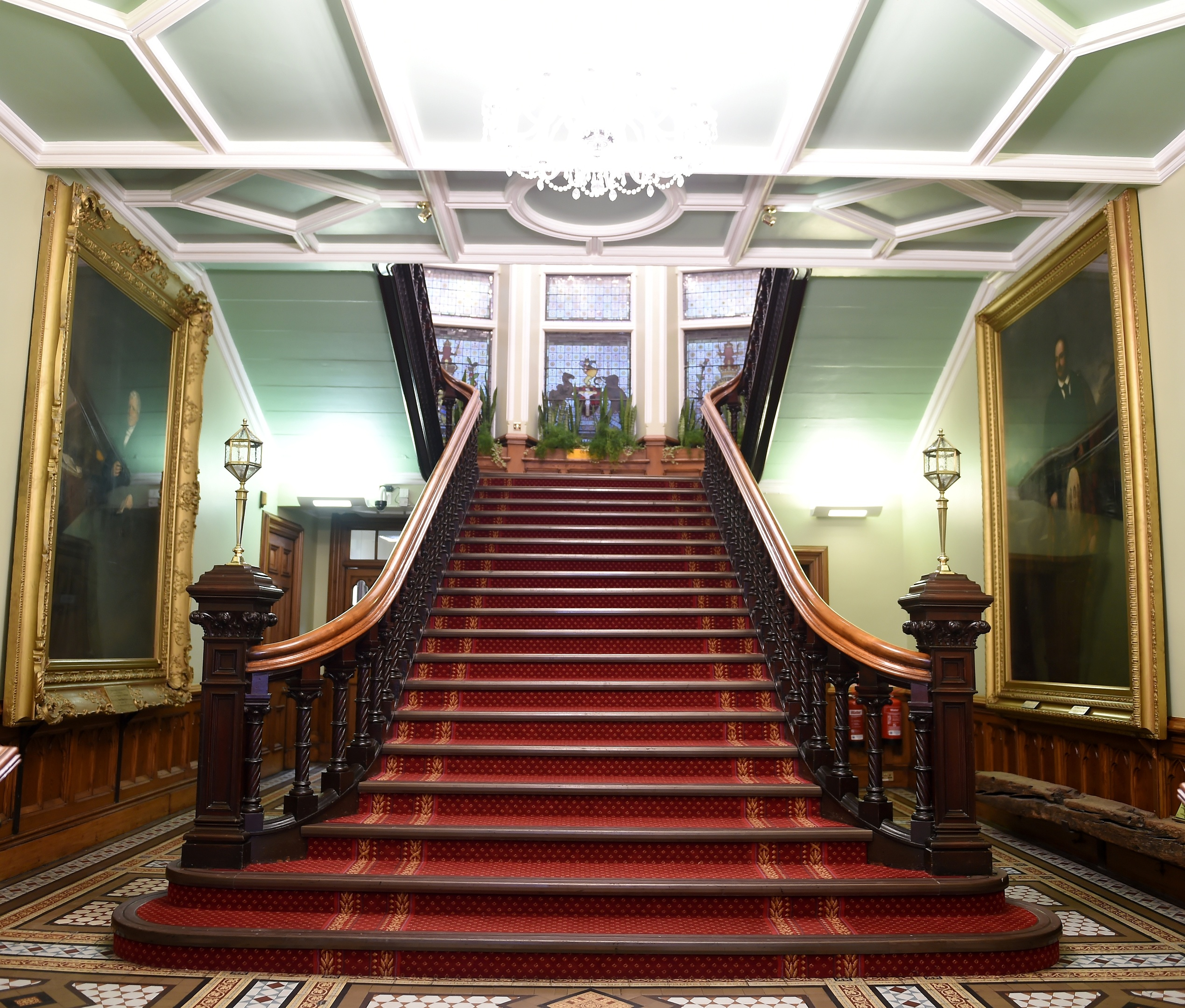 Inside Inverness Town House. Picture by Sandy McCook.