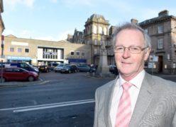 Councillor Allan Henderson when he was chairman of HITRANS. Sandy McCook