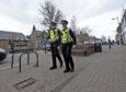Police patrols in Invergordon