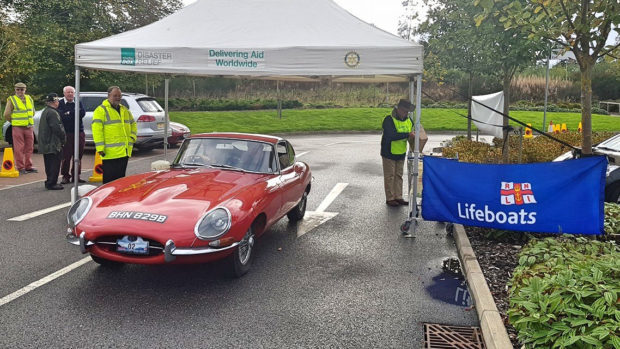 A Ferrari 360, an E type Jaguar and an Audi Quattro Coupe were among the 22 classic cars that set off on a 150 mile rally around Loch Ness last October in aid of the RNLI.