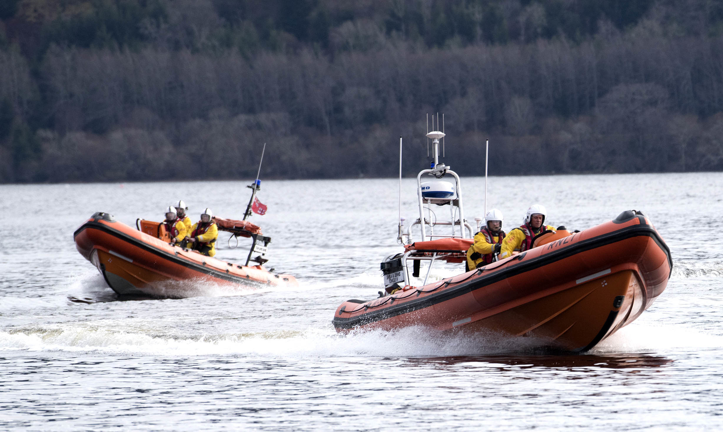 Loch Ness RNLI new Lifeboat Station and Boat.