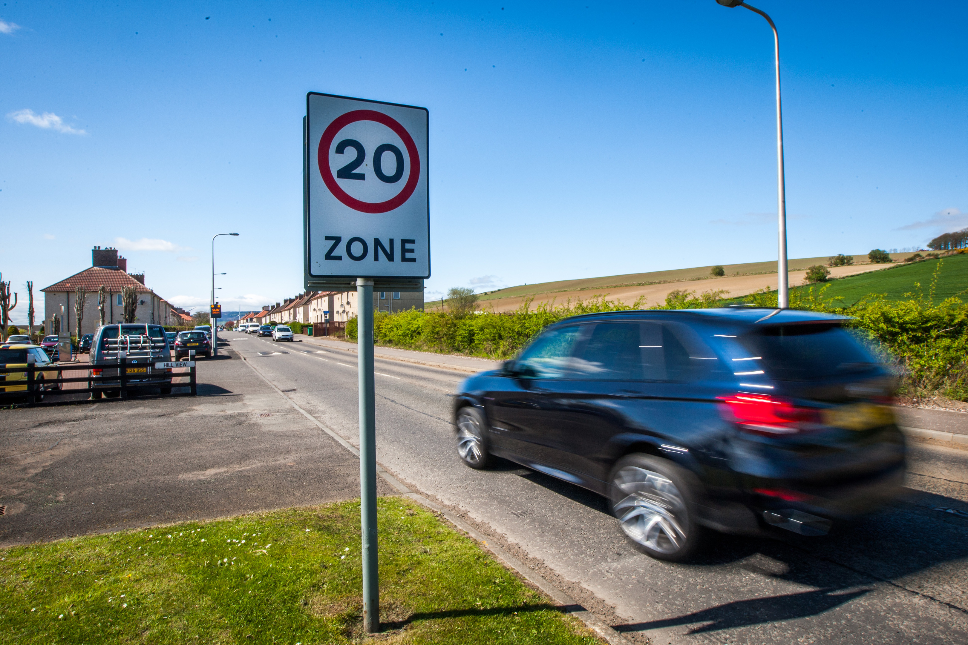 20 mph speed limit for Wick
